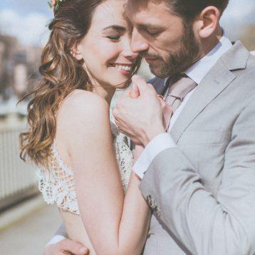 Nina & Marc – Urbane Hochzeit auf Praterinsel in München