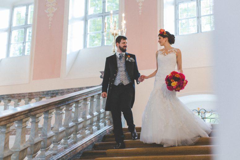 Sabrina & Thomas – Traumhafte Hochzeit im Kloster Irsee